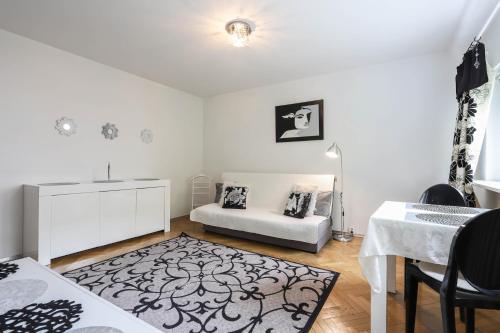 Część wypoczynkowa w obiekcie apartament Poznan