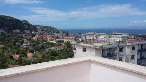 A balcony or terrace at Albatros Sorrento