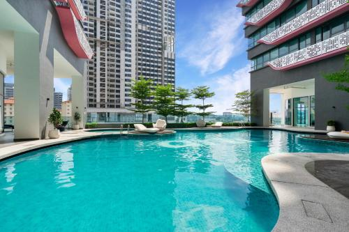 Kolam renang di atau dekat dengan Arte Plus @ Jalan Ampang by Plush