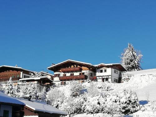 Ferienhaus Joel im Winter