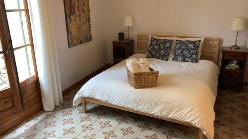 Un ou plusieurs lits dans un hébergement de l'établissement Charming Village House - Pézenas