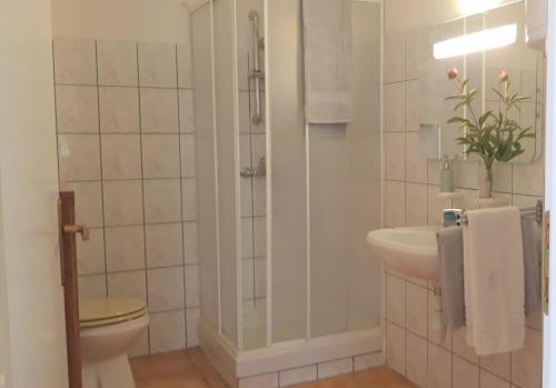 Ein Badezimmer in der Unterkunft Holiday Home Slavica