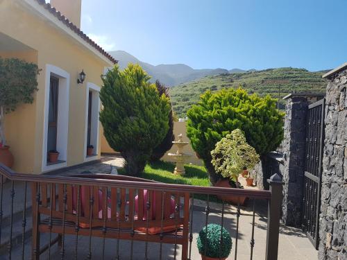 Een balkon of terras bij Villa Las Salineras