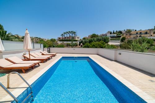 The swimming pool at or near Baldacchino Holiday Villas