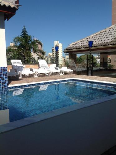The swimming pool at or near Pousada Kepha