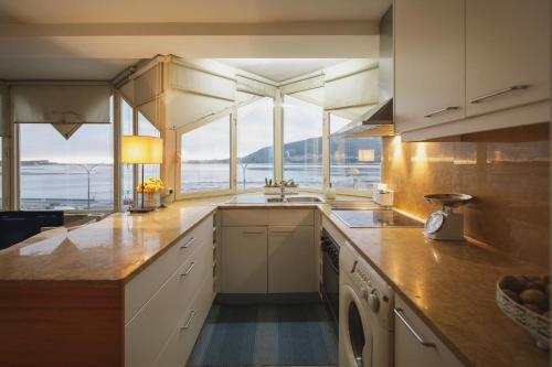 A cozinha ou cozinha compacta de Labrax Viewpoint