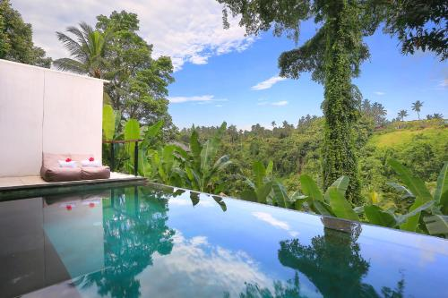The swimming pool at or close to Amora Ubud Boutique Villas