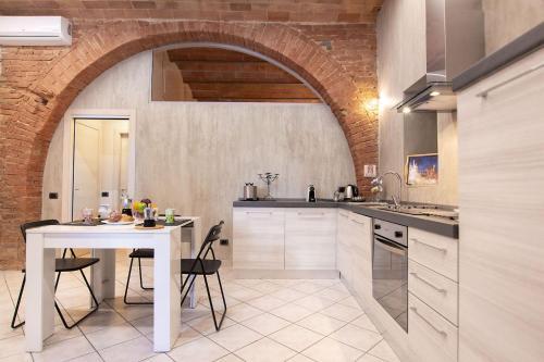 Una cocina o zona de cocina en Il Nido delle Logge