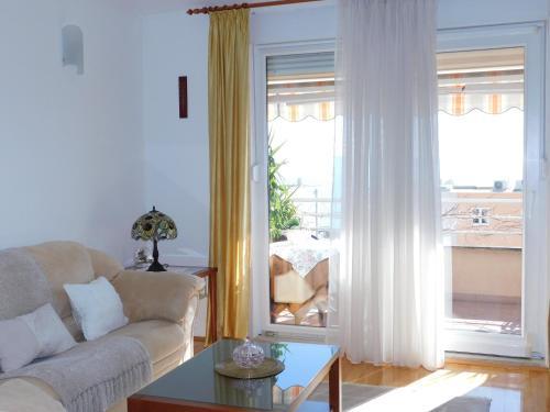 Posezení v ubytování Apartment Anita with amazing sea view