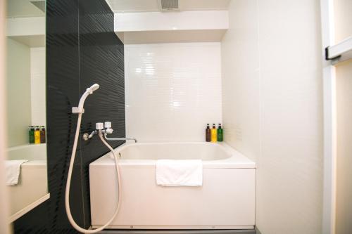ห้องน้ำของ Dotonbori Apartment Next JR Namba