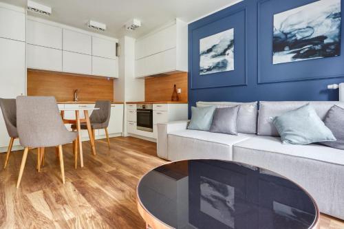 Część wypoczynkowa w obiekcie Flats For Rent - Rezydencja Wintera