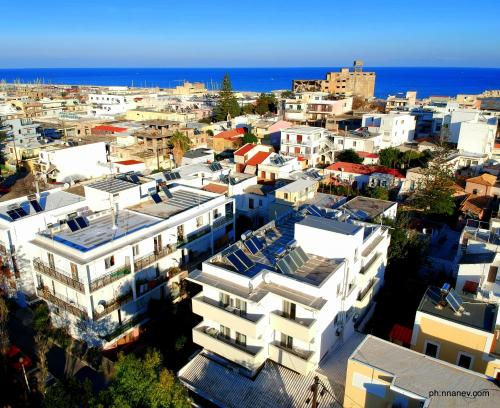 A bird's-eye view of Lefka Hotel & Apartments