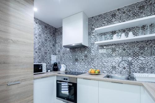 A kitchen or kitchenette at Vagabond Corvin