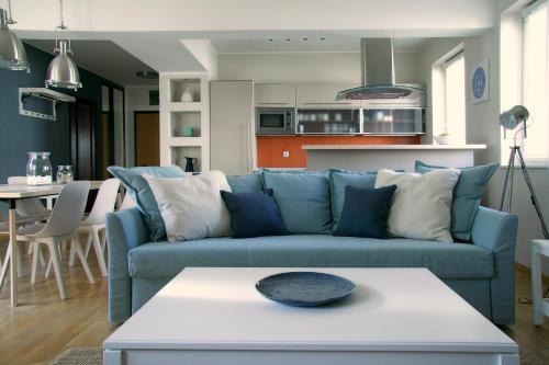 Posezení v ubytování Siesta Apartments