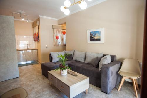 Χώρος καθιστικού στο Monteduca Apartments