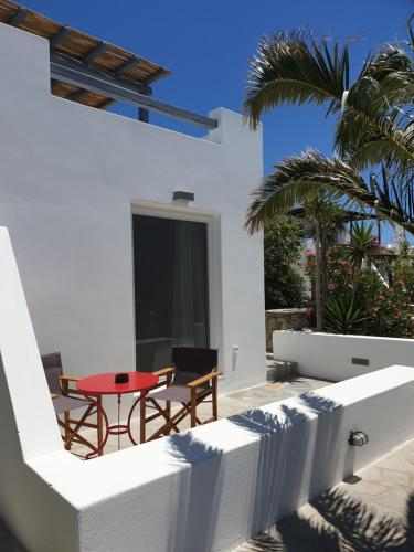 A balcony or terrace at Bellou Suites