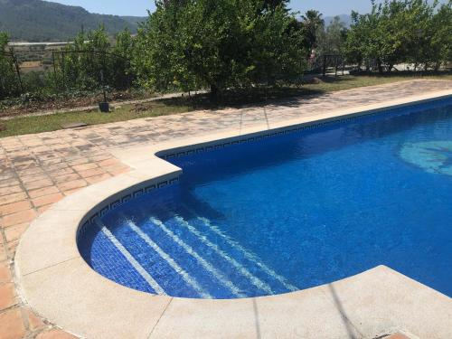 The swimming pool at or near FINCA EL PARAISO - MULA