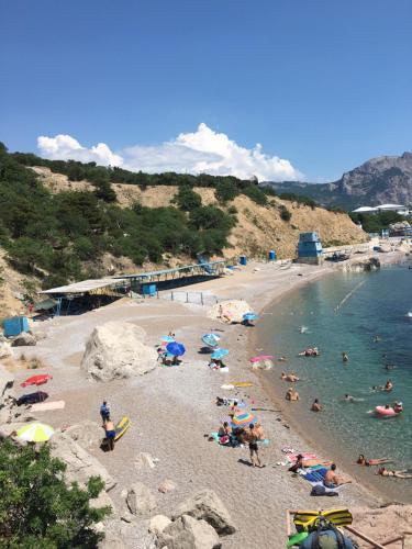 Пляж на территории апартаментов или поблизости