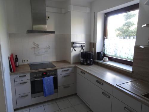 A kitchen or kitchenette at Hänflingsnest