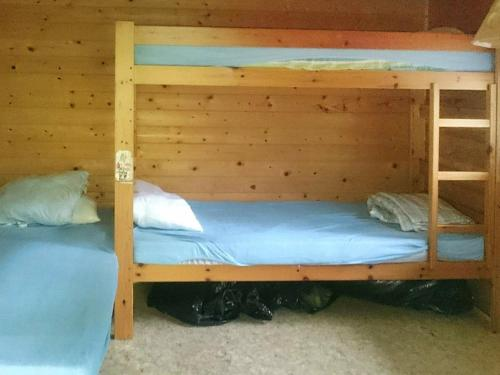 A bunk bed or bunk beds in a room at Three-Bedroom Holiday home in Sösdala