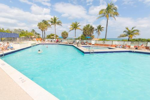The swimming pool at or near 484 City View Hollywood Beach