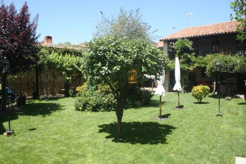 Jardín al aire libre en El Rinconcito de Llamas