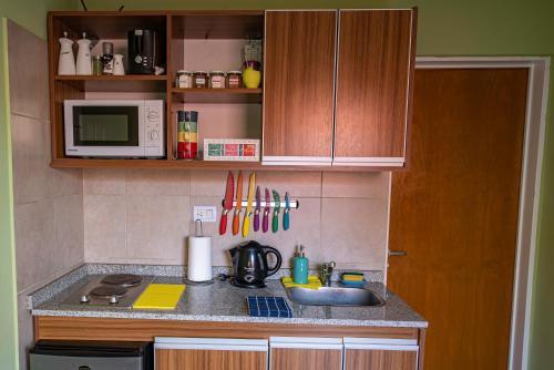 Una cocina o kitchenette en Apart Guillaumet