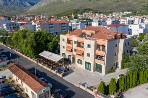 A bird's-eye view of Apartment Vedran