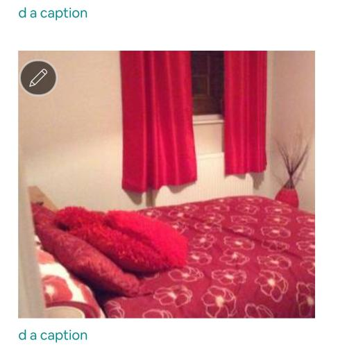 A bed or beds in a room at Penarth