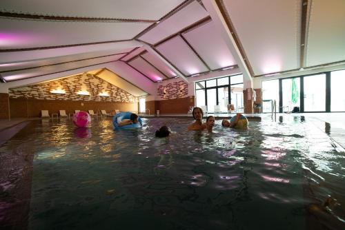 The swimming pool at or near Ruskovets Thermal SPA & Ski Resort
