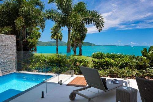 The swimming pool at or near Mirage Whitsundays