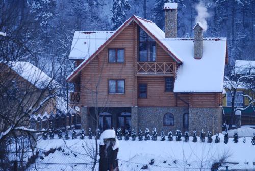 Villa Bilogirya during the winter
