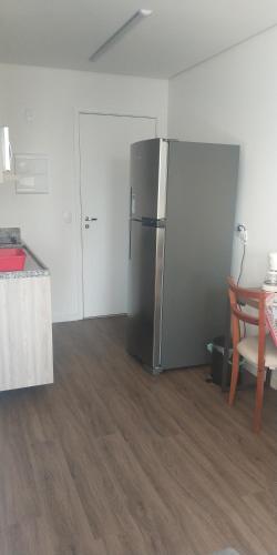 A kitchen or kitchenette at Sky Brigadeiro Tobias