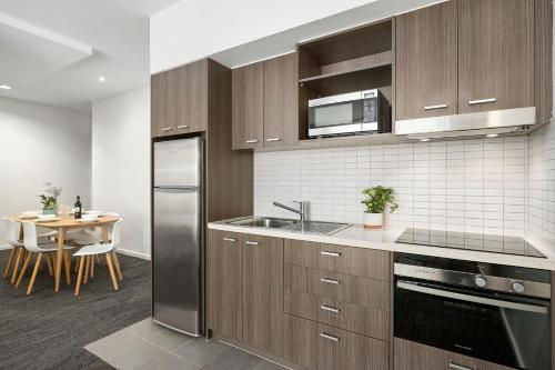 A kitchen or kitchenette at Quest Caroline Springs
