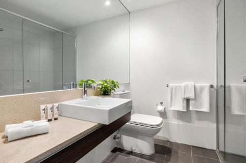 A bathroom at Quest Caroline Springs