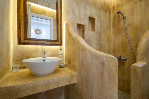 A bathroom at Valena Mare