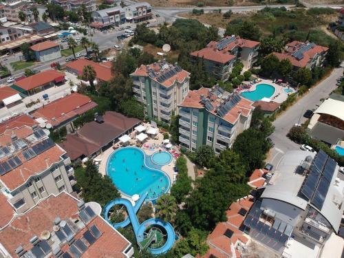 A bird's-eye view of Melissa Garden Apart Hotel
