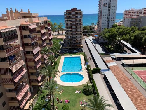 A view of the pool at SI Apartamentos Benicassim or nearby