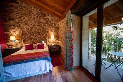 A bed or beds in a room at Casa de Anamá