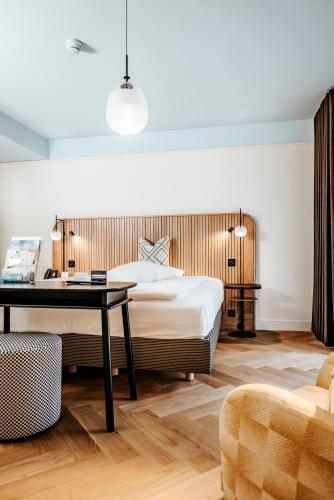 Ein Bett oder Betten in einem Zimmer der Unterkunft Best Western Hotel Bern