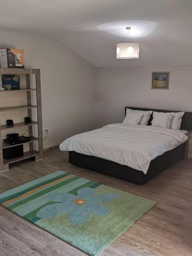 Cama o camas de una habitación en Vikings Grigo Apartaments