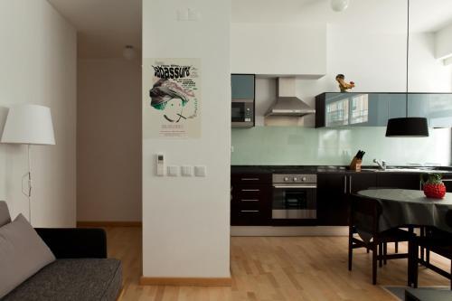 A cozinha ou cozinha compacta de The Lisbonaire Apartments