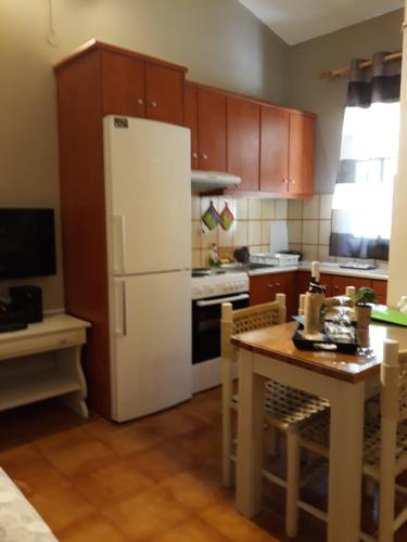 A kitchen or kitchenette at Kefallonia Bay Resort