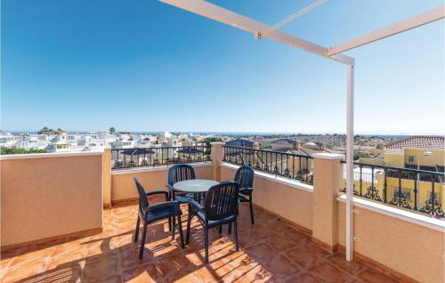 A balcony or terrace at Holiday home San Miguel de Salinas 91 with Outdoor Swimmingpool
