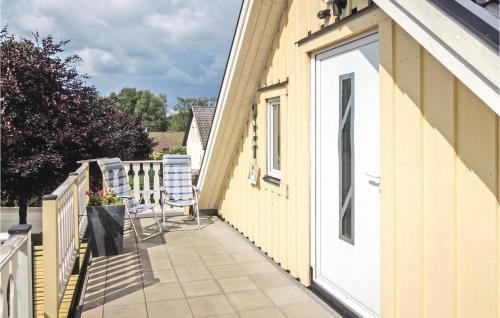 En balkong eller terrass på Apartment Vittsjö 27