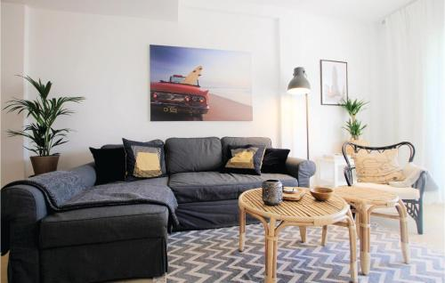 Zona de estar de Two-Bedroom Apartment in El Campello