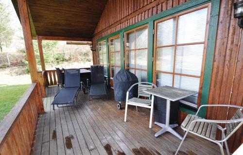 En balkong eller terrass på Holiday home Tullebo Ekväg Hindås