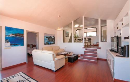 A seating area at Holiday home Camino la Caldereta I-672