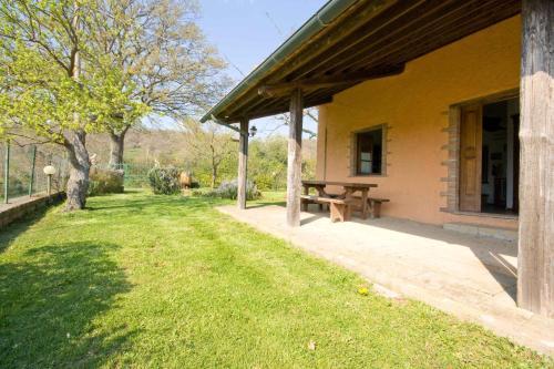 Jardín al aire libre en Relais Il Ciliegio