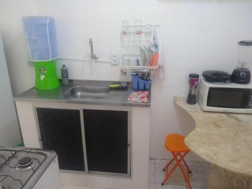 A kitchen or kitchenette at salvador, barra